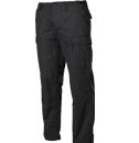 Pantaloni negri cu buzunare laterale bărbați