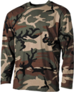 Tricouri lungi de camuflaj