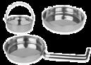 Recipiente și caserole din oțel inoxidabil și aluminiu