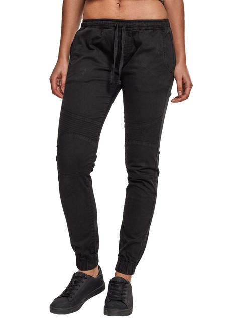 Urban Classics Pantaloni sport de damă, negri