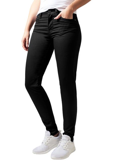 Urban Classics Pantaloni de damă, negri