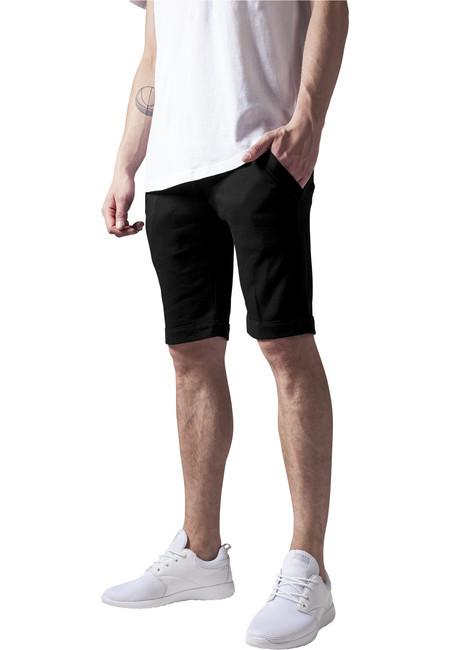 Urban Classics Pantaloni scurți de trening, negri